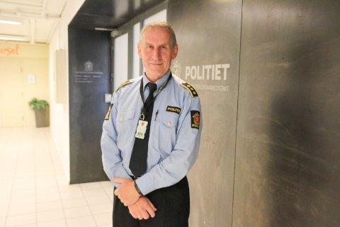 LENSMANN: Asbjørn Sjølie ved Vest-Lofoten lensmannskontor.