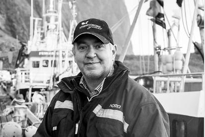 PRISVINNER: Jens Petter Gylseth fra Steinfjorden Sjømat AS.