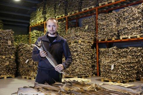 Johan Martin Langaas Berntzen er daglig leder i familiebedriften J.M. Langaas i Sund i Flakstad, som driver med kjøp og videreforedling av fisk.