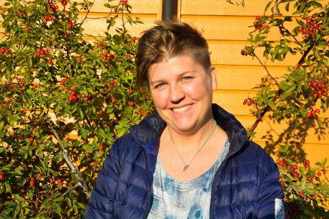 Anne Karine Statle i Lofoten mat