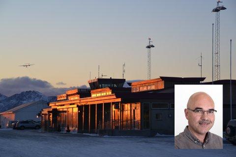 Transportforsker Gisle Solvoll (innfelt) tror regional enighet vil være viktig for at det skal bevilges penger til en eventuelt ny eller utvidet flyplass i regionen.