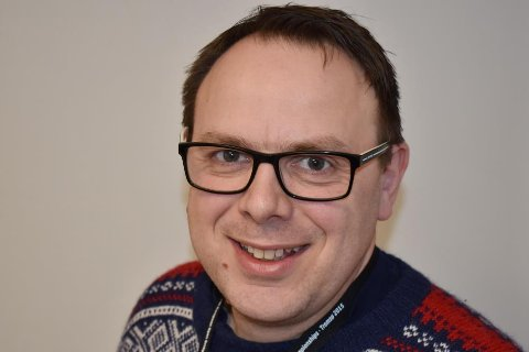 Enhetsleder Arild Jakobsen  ved Vestvågøy kommunes eiendomsdrift.