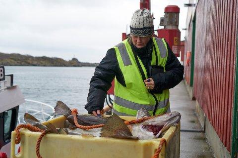 Jonette Braathen, kvalitetskontrollør i Norges råfisklag