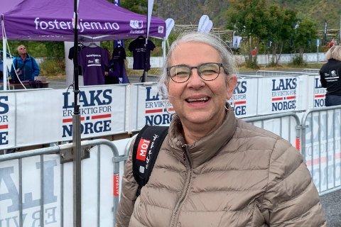 Bygdelistas Lillan Rasmussen er fornøyd med valgresultatet.