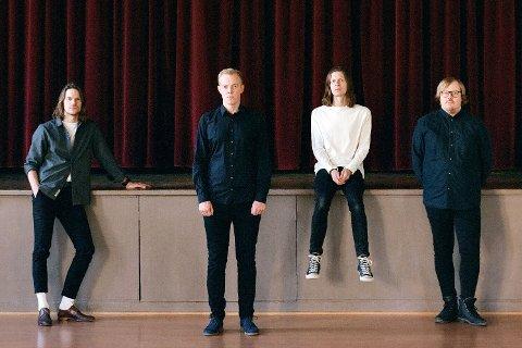 """Bodøbandet Kråkesølv, som gir ut låta """"Lett for mæ å si"""", som ble skrevet etter musikeren Marius Bein sitt selvmord."""