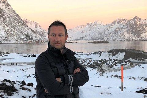 Entreprenør Runar Brekken.
