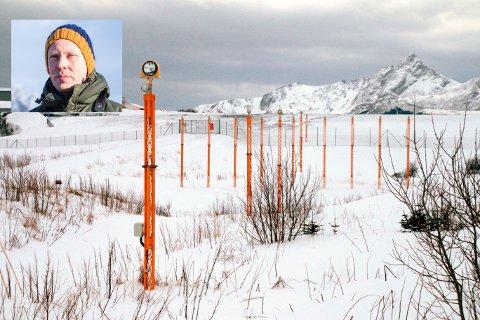 Martin Eggen (innfelt) og Norsk ornitologisk forening liker ikke at det blir ofret våtmark for fugl i planene om å lage storflyplass på Leknes.