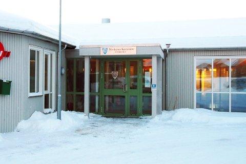 Rådhuset i Reine, Moskenes kommune.
