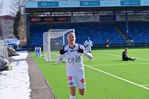Strømsgodset-spiller Lars-Jørgen Salvesen.