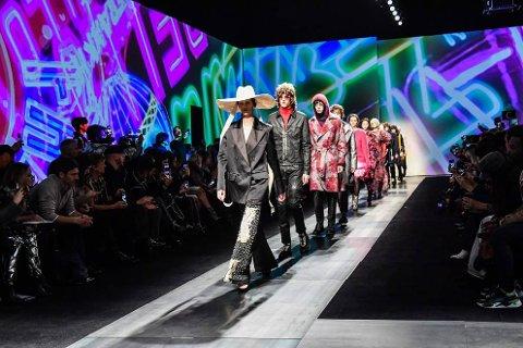Eirill DeLonge har vært modell på Fashion Week.