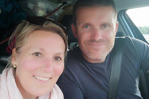 Kari-Lise Thue Sagen (42) og Runar Blekkerud (45) står bak firmanavnet «Slump», som vil drive kafeen på Meieriet kultursenter på Leknes.