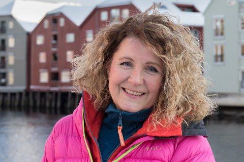 Line Renate Samuelsen ble ny leder i Destination Lofoten i 2020. Hun ser på framtida for reiselivet med både beundring og bekymring.