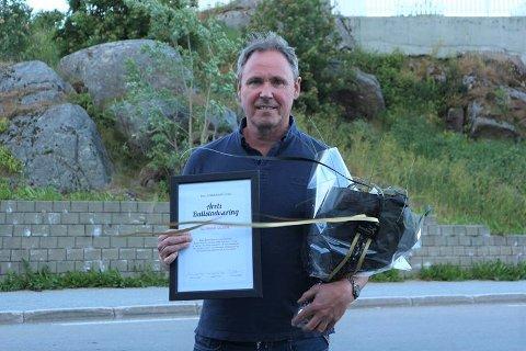 Gunnar Olsen (55) ble kåret til Årets Ballstadværing.