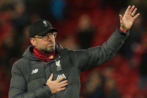 Liverpool-manager Jürgen Klopp.