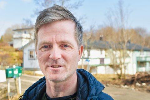 Ørjan Sandnes, styreleder i Vestvågøy Fiskarlag.