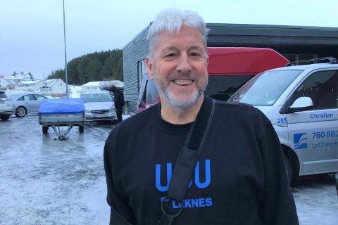 Inge Evald Elvebakk fra indre Borgfjord blir 70 år den 24. januar. – Vi holder oss til koronareglene, og tenker å servere litt kaffe og kaker til fire-fem av de nærmeste, sier han.