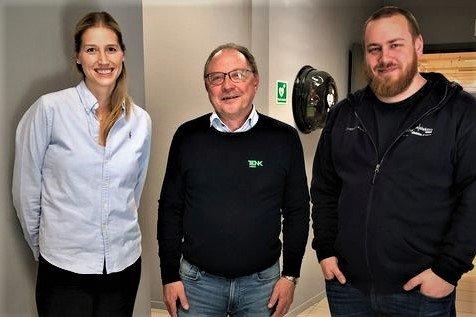 Styret i PRØV Lofoten består av f.v. Katrine Skjerpan fra Aqila, Arne H. Reiersen fra TENK Lofoten og Niilo Nissinen fra Lofoten Elektro.