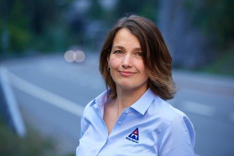 Kari Vassbotn fra Stamsund er regionleder for Trygg trafikk.