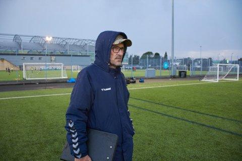 BETYR MYE: Roger Markussen legger ikke skjul på at han har hatt mange tøffe dager etter internasjonale oppdrag for Forsvaret, og at det å være en del av landslaget betyr mye for ham.