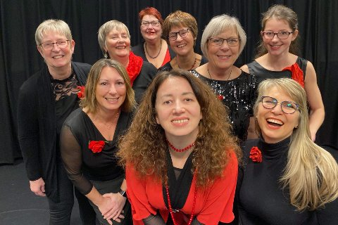 Vest-Lofoten damekor må avlyse årets 8. mars-arrangement, grunnet koronarestriksjoner.