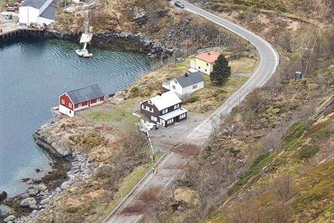 17. mai gikk det ras over E10 mellom Sørvågen og Moskenes fergeleie.