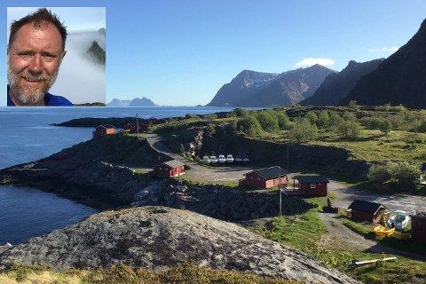 Kafeeieren, pastaimportøren og eiendomsinvestoren Vidar Femdal Røe (52) fra Oslo har kjøpt den gamle campingplassen på Å, sammen med svogeren Karl Olav Løvald og Erling Kristensen.