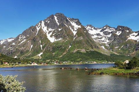 Higravtind 1146,9 moh. Bildet er tatt i 2020.
