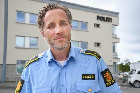 Alf Gunnar Holm er fungerende krimsjef i Bodø.
