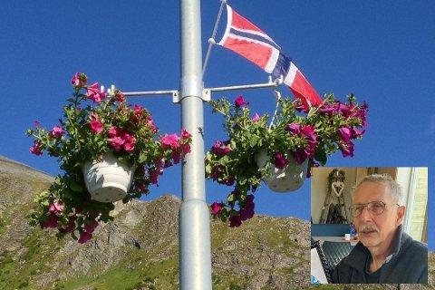 Per H. Kirkesæther (innfelt) er pådriver og medlem av «Forskjønningskomiteen» på Ramberg.