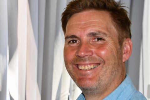Sten Roger Sandnes, daglig leder i Tenk Lofoten.