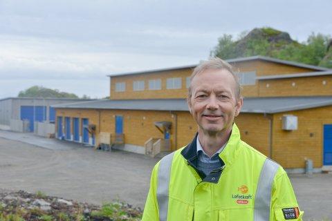 daglig leder i Lofotkraft, Pål Martinussen Foto: Tore Berntsen, Visualdays.no
