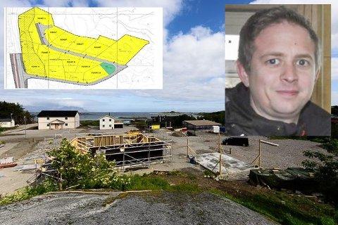 Stig Frantzen og SF Bygg har solgt av 18 av 21 tomter i Hellesjyveien i Stamsund.
