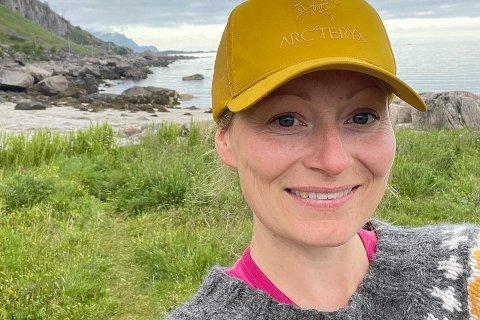 Lisa Elena Martinsen Fagerheim flyttet hjem til Lofoten i 2014.