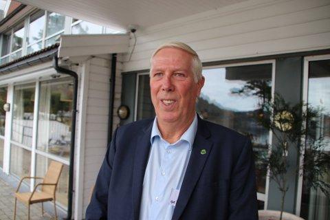 BREVSKRIVER: Ordfører i Farsund, Arnt Abrahamsen (Ap), har på vegne av alle ordførere i Lister skrevet brev, vedrørende karrieresenter i Lister.
