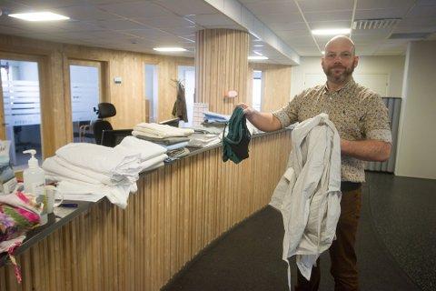 BEKREFTER: Kommunalsjef Ronny Bjørnevåg bekrefter at to lyngdøler er testet for koronasmitte etter biklarrangementet i Kvinesdal.
