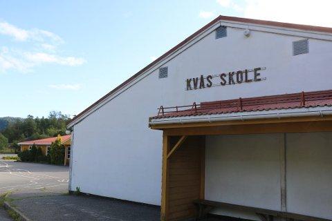 NEDLEGGINGSTRUET: Nå er også Kvås skole nedleggingstruet.