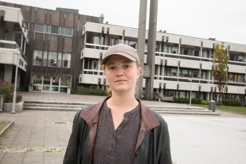SLAKTERIPLANER: Helle Qvale Ringereide i prosjektgruppa for lokalslakteriet Dalstroka innafor planlegger på Byremo legger vekt på dyrevelferd og mulighetene for inntjening for bøndene.