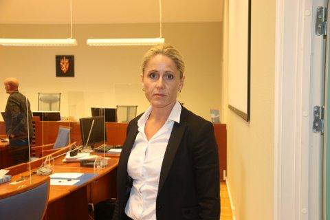 HÅPER Å SLIPPE NY RUNDE: Bistandsadvokat Berit Therese Knudsen sier ekteparet som er ofre i saken håper å slippe ny rettsrunde.
