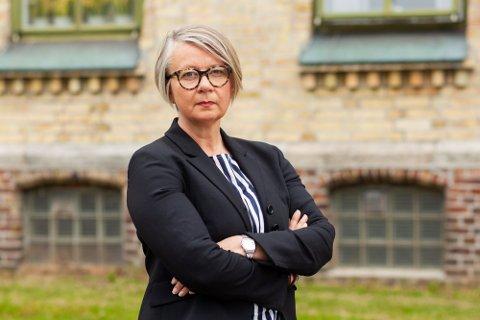 SVARER IKKE: Administrerende direktør Nina Mevold overlater til en informasjonsmedarbeider å kommentere politianmeldelsen mot sykehuset.