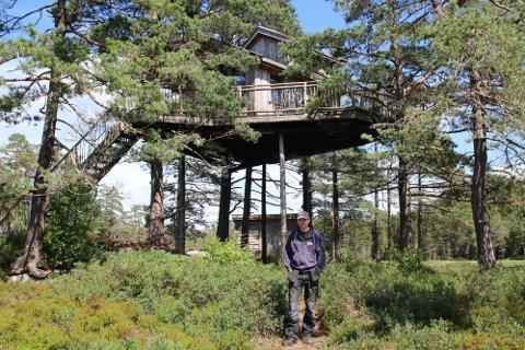 ANDREPLASS: Knut Eivind Birkeland har allerede klatret opp til andreplass på listen som Norges hyggeligste håndverker.