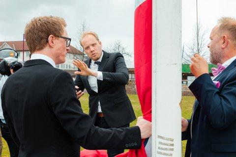 REGI: Knut Andreas Foss skal ha regi på ni timer direktesending 17. mai!