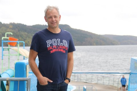 TILBAKE TIL NORMALEN: Atle Homme håper normalen har kommet for å bli, og ser frem til full gjenåpning av Sørlandsbadet.