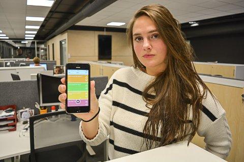 BER DE VOKSNE VÅKNE OG DE UNGE SKJERPE SEG: Camilla Monsen er sjokkert over nivået på meldingene som publiseres anonymt via appen «Jodel» i mossedistriktet.