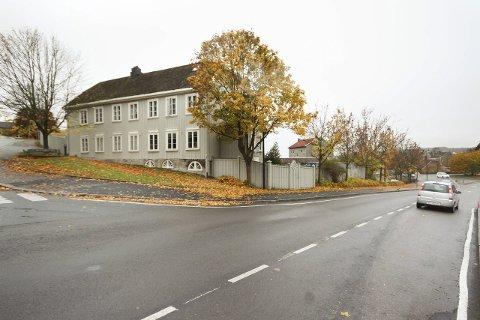 NYQUISTGÅRDEN: Arnulf Johannessen i Moss og Omegn Tenkepark fnyser av byplanleggerens utspill om at Nyquistgården bør rives. foto: espen vinje