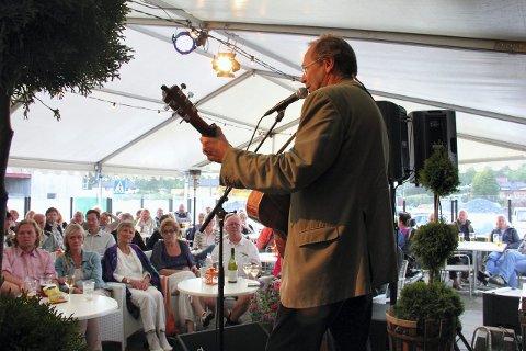 GJENSYN: Ole Paus er alltid en populær gjest på Losen. Her på besøk i 2012.
