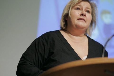 VIKER IKKE: Statsminister Erna Solberg.
