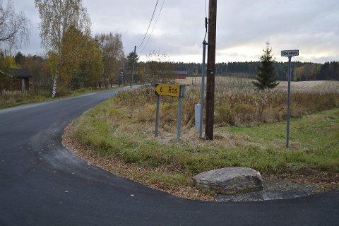 Privat: Den seks kilomenter lange veien er inngangen til mange aktiviteter i Vansjø.