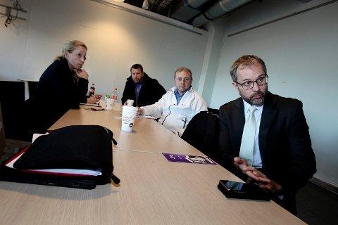 Knut Ragnar Johannessen, Rygge Airport her sammen med Hege Aatangen, Bjørn Petter Jenssen og Ulf Lervik møttes på rygge mandag ettermiddag.
