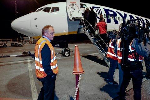 Siste dag på Moss Lufthavn Rygge.