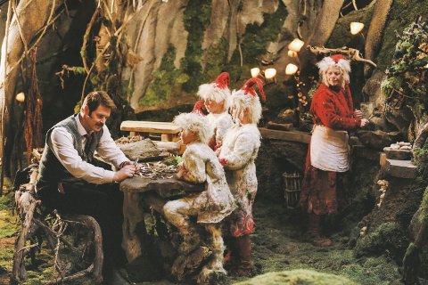 Førpremiere: Familiefilmen om juleklassikeren snekker Andersen og julenissen har førpremiere på SF Kino i Møllebyen i Moss på lørdag.